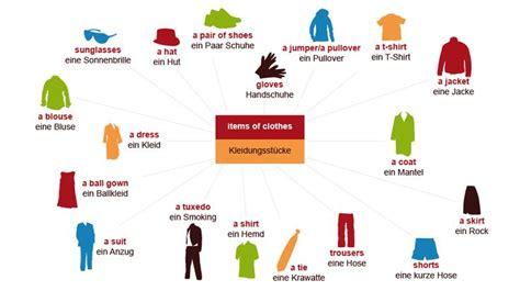 Bewerbungsgesprach Klamotten Kleidungsst 252 Cke Wortschatz Klamotten