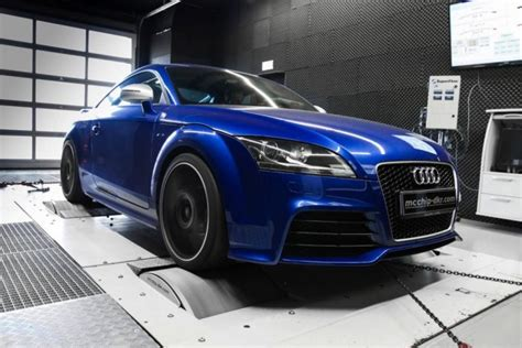 audi tt rs tuning kit by mcchip dkr boosts power to 348kw