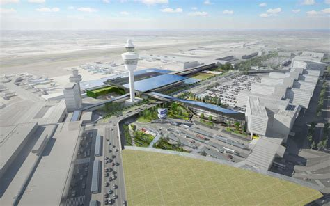 schiphol airport new terminal schiphol airport competition design unstudio