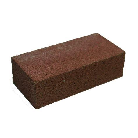 home depot decorative bricks 4 in x 2 in x 8 in red concrete brick 100003009 the