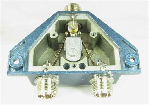 mfj 1702c 2 position hf vhf uhf antenna switch with lightning protection 650619019131 ebay