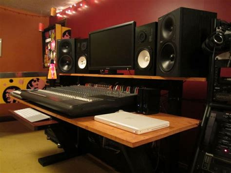 Diy Recording Desk Homestudioguy Diy Build Plans Recording Studio Furniture Home Recording Studio
