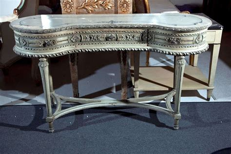 painted louis xiv style vanity table at 1stdibs