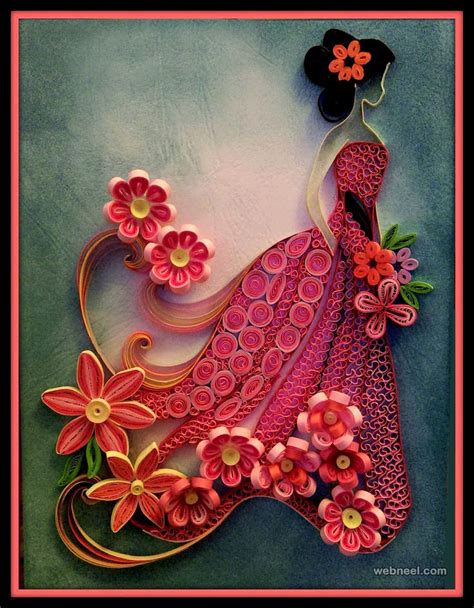 the art of quilling 25 beautiful quilling flower designs and paper quilling