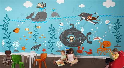 children wall decal wall sticker decal by designed designer modern wall decor by