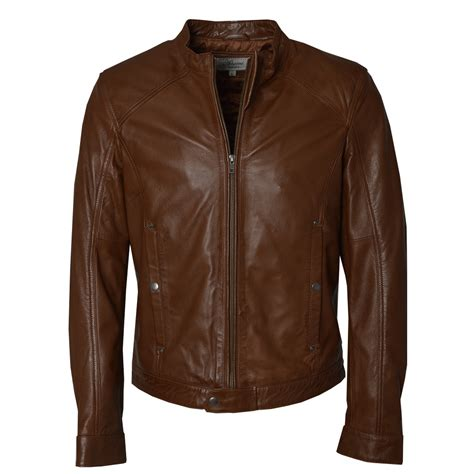 brown leather jacket mens brown leather diesel jacket by ashwood the shirt store