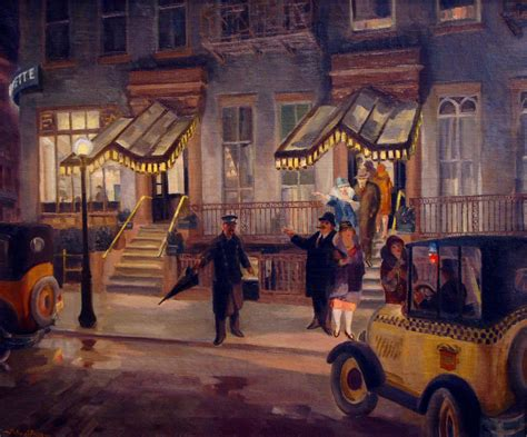 Buy Awning The Lafayette Oil By John Sloan 1871 1951 United States