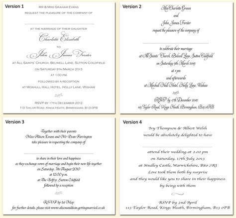 inserts for wedding invites templates exle wedding invitation wording and fonts echo of