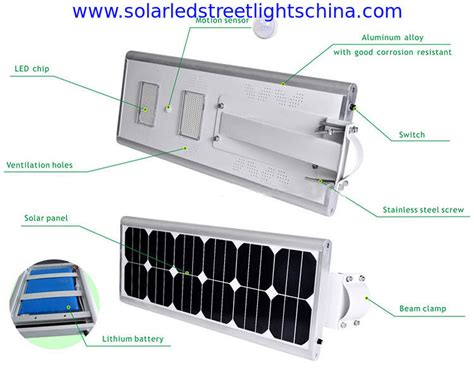 all in one solar light 40w china all in one solar led light all in one