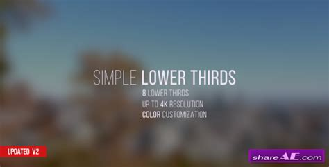videohive lower thirds after effects templates 187 free