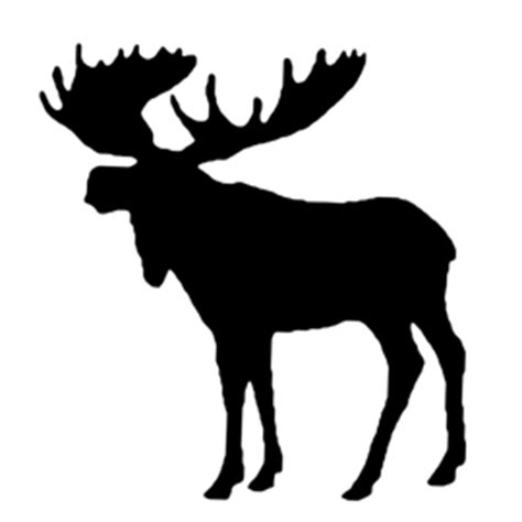Moose Silhouette Stencil Free Stencil Gallery Moose Cut Out Template