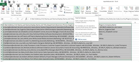How To Export Users From Active Directory Maurotech Active Directory Import Csv Template