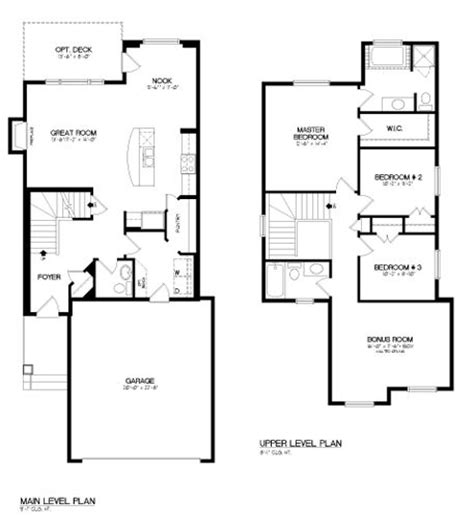 2 story open floor plans pin by broadview homes on floor plans pinterest