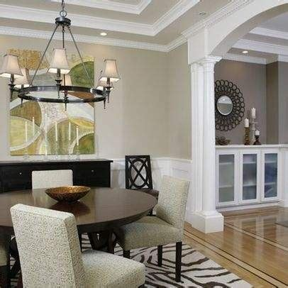 beige walls and white trim for the home hallways ceilings and floors