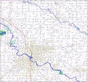 county road map bridgehunter county iowa