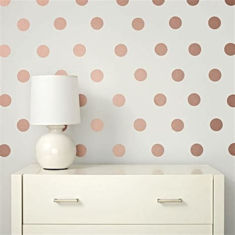 gold dot wall decals 25 best ideas about gold dot wall on pinterest polka