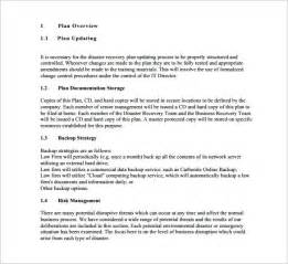 disaster recovery plan template for small business disaster recovery disaster recovery plan free premium