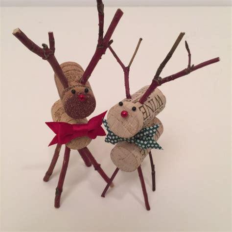 Handmade Reindeer - 18 magical diy decoration ideas taken from