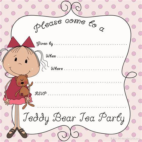 tea party invitation ideas oxsvitation com