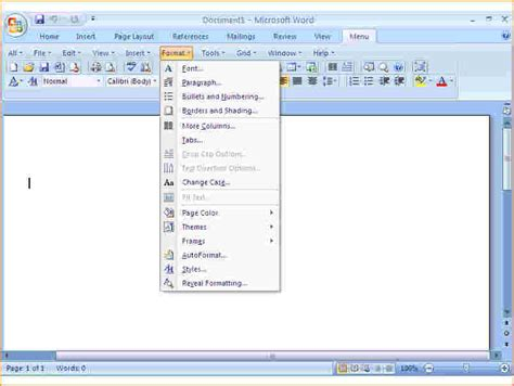 Office Word Free Microsoft Word 2010 Free Classic Menu For Word