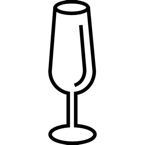 Glass Outline by Empty Glass Of Wine Outline Free Other Icons
