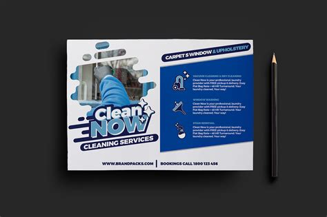 Free Cleaning Service Flyers