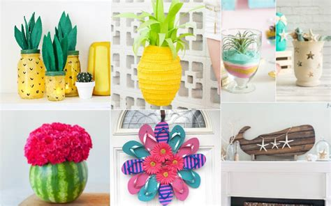 top 28 decorations that you can make at home fun and easy diy summer crafts you can make in no time