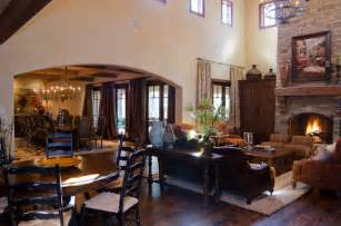 Hill Country Dining Room Hill Country Style Traditional Living Room