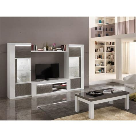 Grey Gloss Living Room Furniture Display Cabinet In White High Gloss And Grey With