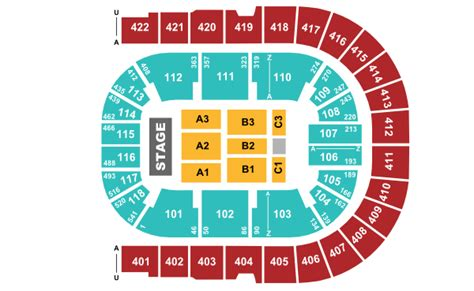 o2 floor seating plan 02 arena seating plan level 4
