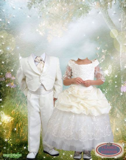photoshop template of costume lovely young wedding psd template costumes for photos