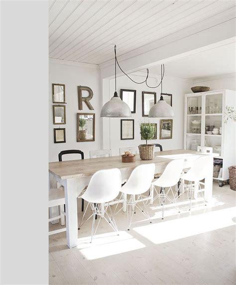 Chaise Eames Vitra 15 Prachtige Landelijke Eetkamers Interieur Inspiratie