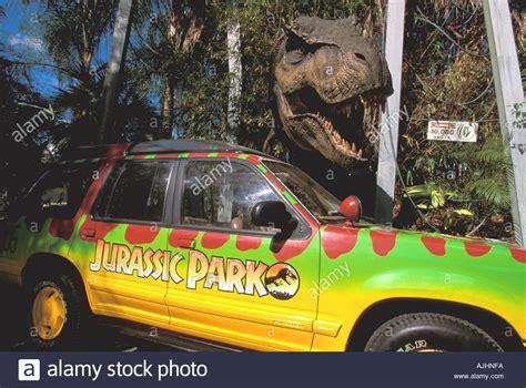 jurassic park car trex orlando fl florida universal studios jurassic park t rex
