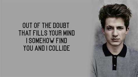charlie puth until the dawn charlie puth collide lyrics youtube