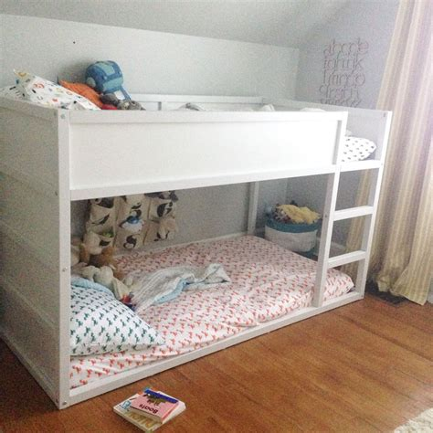 ikea kura bunk bed how to paint the ikea kura bed kura bed pinterest