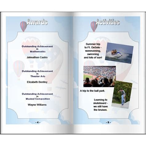 year book templates make your own homeschool yearbook ideas for planning