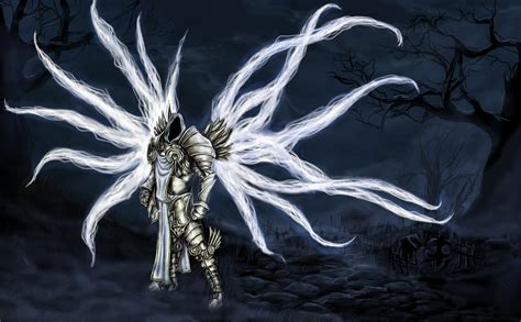 tyrael by lzexl on deviantart