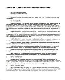 easement template easement agreement template easement template resume
