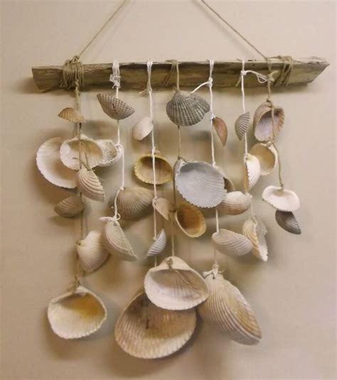 seashell wind chime    hands