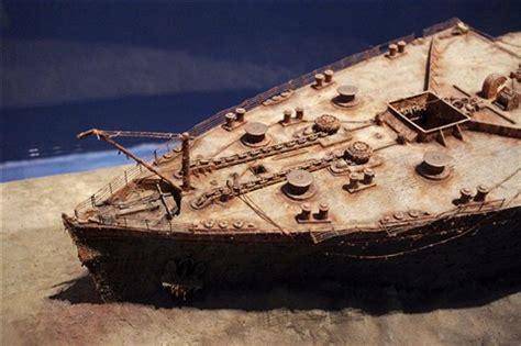 bow of the sunken titanic: newzer: galleries: digital