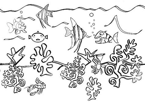 underwater scenes coloring pages inspirations