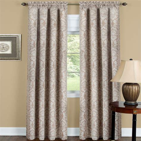 tan blackout curtains achim blackout sutton tan polyester blackout curtain panel