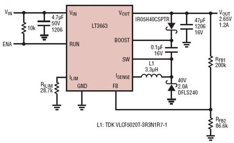 supercapacitor voltage limit solutions 2 65v at 1 2a output cap charging circuit from 7 5v to 36v input