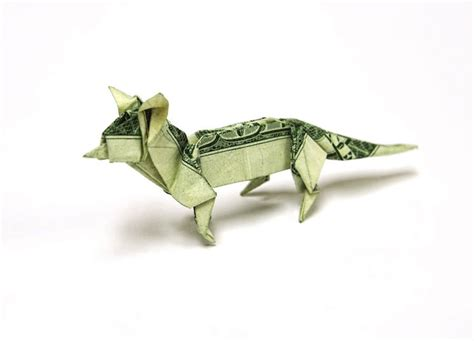 Origami Made Out Of Money - intricate origami designs made out of money