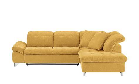 sofa breite ottomane ecksofa mira breite h 246 he 83 cm gelb kaufen bei woonio