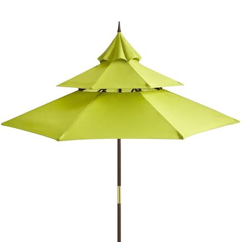 Pagoda Patio Umbrella This Citron Pagoda Umbrella Garden Of Earthly Delights Pi