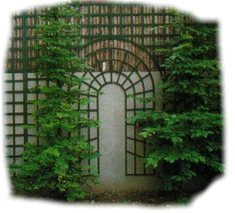 Treillis Jardin by D 233 Coration Jardin Treillis Exemples D Am 233 Nagements