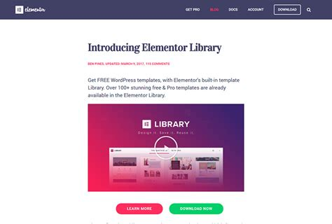 Great Elementor Layouts To Create Your Web Page Wp Daddy Elementor Template Library