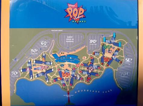 pop century resort map our daily hike back to the room picture of disney s pop century resort orlando tripadvisor