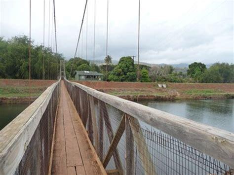swinging bridge kauai swinging bridge hanapepe reviews of swinging bridge